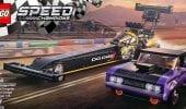 LEGO Speed Champions: prime foto del set dedicato alla Dodge