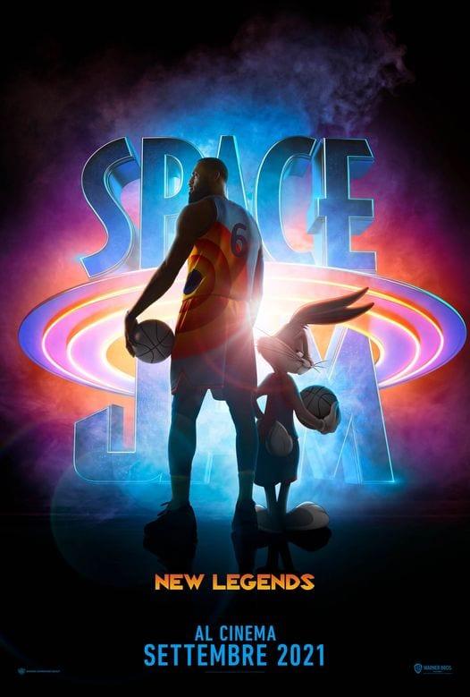 Space Jam 2: il nuovo poster rivela il titolo italiano e la data di uscita