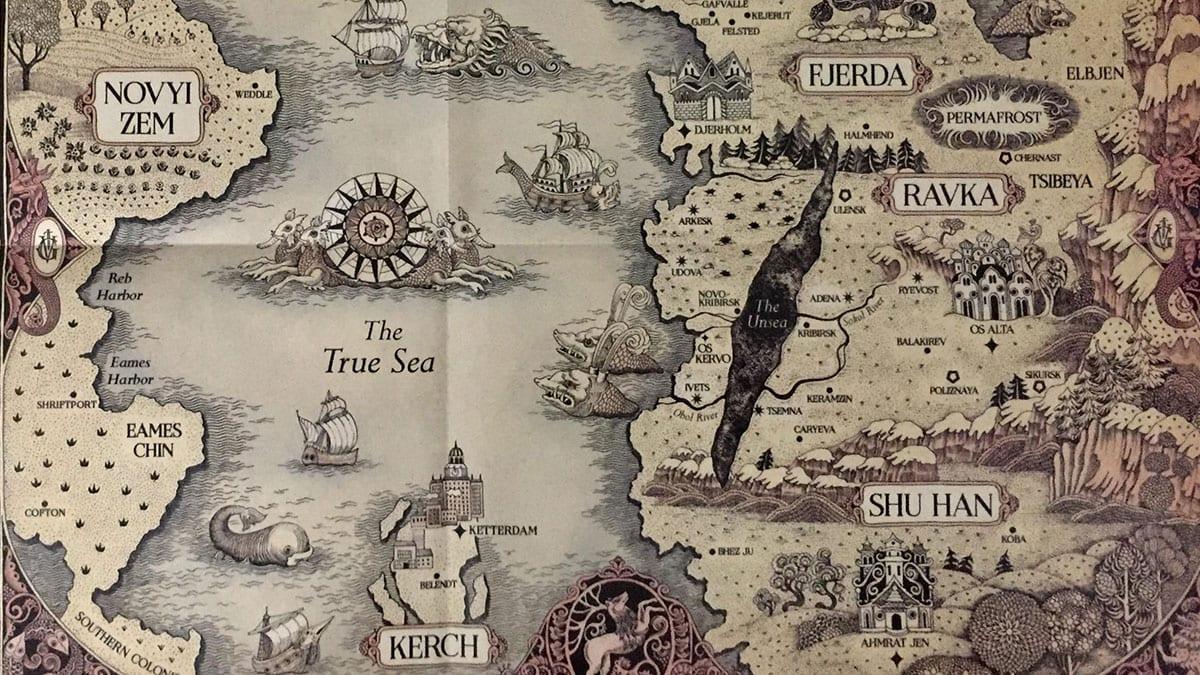 mappa GrishaVerse