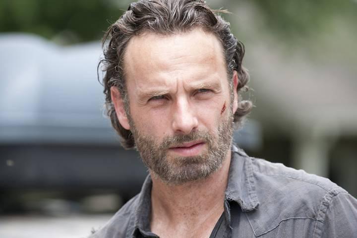 The Walking Dead film con Andrew Lincoln