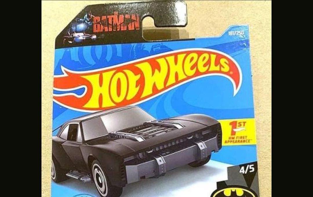 Batman, Batmoblie Hot Wheels