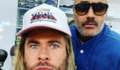 Thor: Love and Thunder, Chris Hemsworth condivide una foto dal set con Taika Waititi