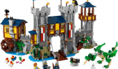 LEGO Castle, prime immagini del nuovo castello LEGO Creator 3in1 31120 Great Knight's Castle