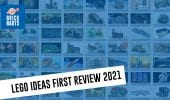LEGO Ideas First Review 2021 - Analisi dei progetti #Bricknauts