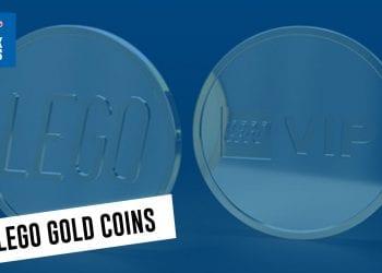 lego gold coin