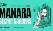 Manara Secret Gardens: la mostra dedicata ai 50 anni di carriera del Maestro a Pordenone