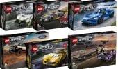 LEGO Speed Champions, svelati i nuovi set set automobilistici per il 2021