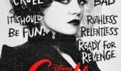 Crudelia character posters