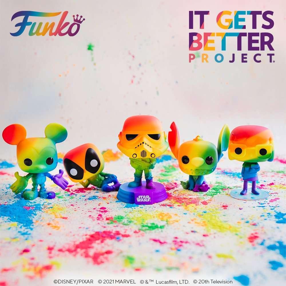 Funko Pop! Pride 2021