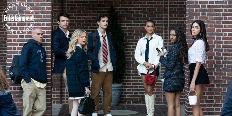 Gossip Girl reboot cast nuova immagine