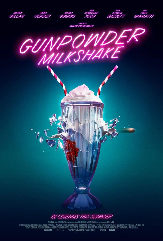 gunpowder milkshake poster cinema