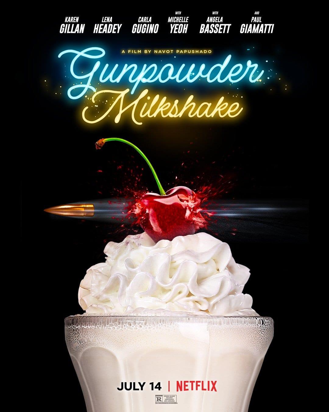 gunpowder milkshake poster netflix
