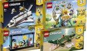 LEGO Creator 3in1, altre immagini dei nuovi set in arrivo per l'estate 2021