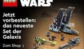 LEGO Star Wars: prime immagini del set Bad Batch Shuttle dedicato alla nuova serie Disney+
