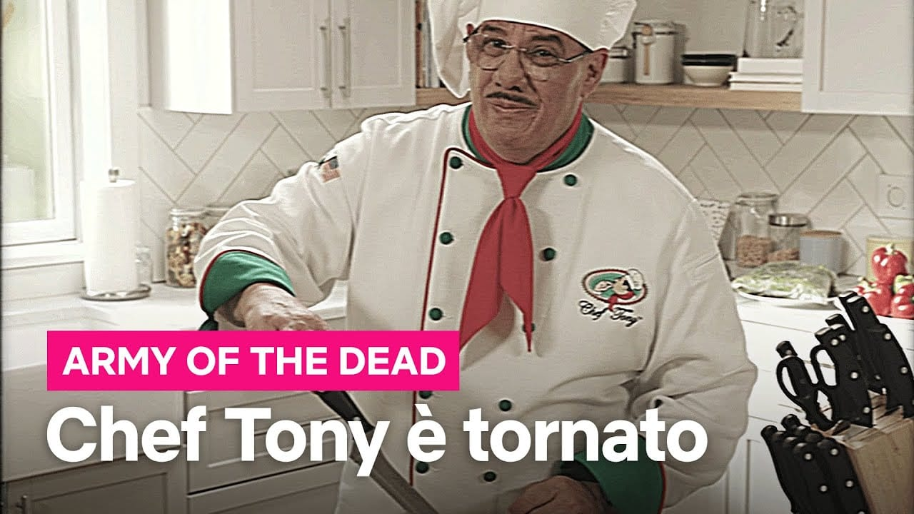 Army of the Dead, Chef Tony
