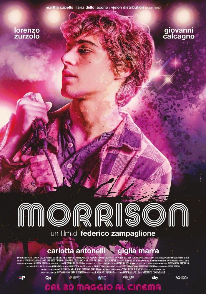 Morrison: il poster del nuovo film di Federico Zampaglione