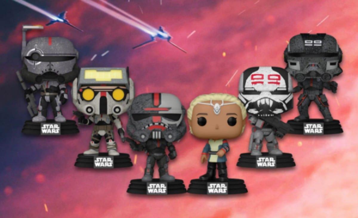 Star Wars: The Bad Batch, i Funko POP! ispirati alla serie animata