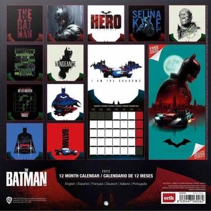 The Batman Calendar