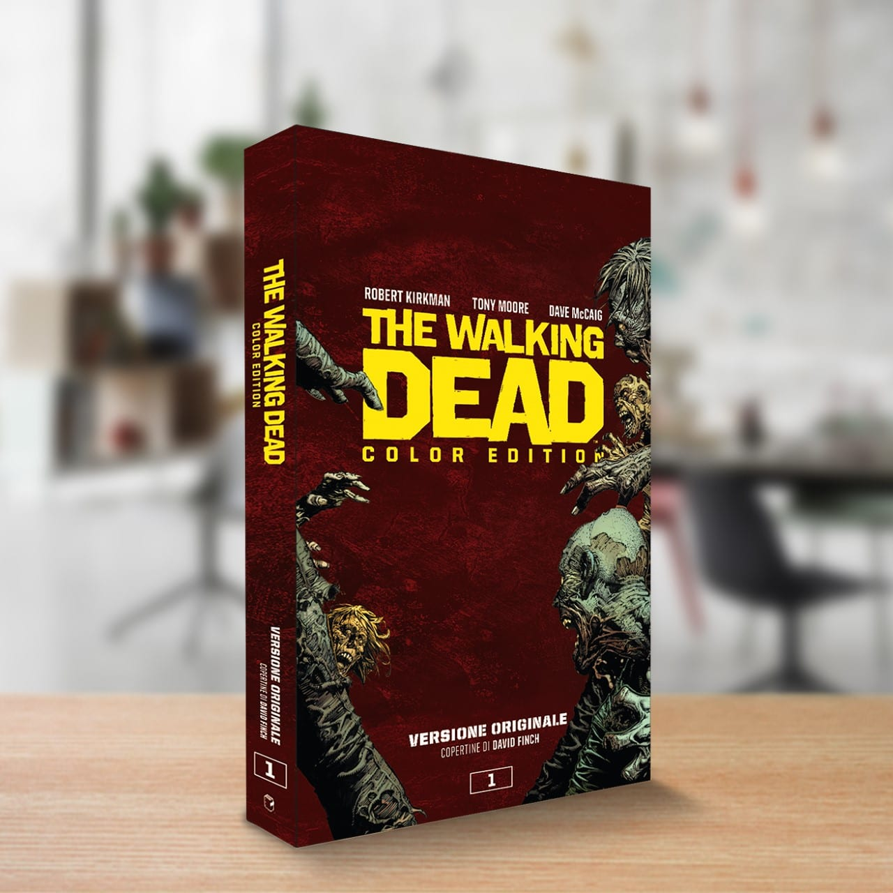 The Walking Dead color edition spillati