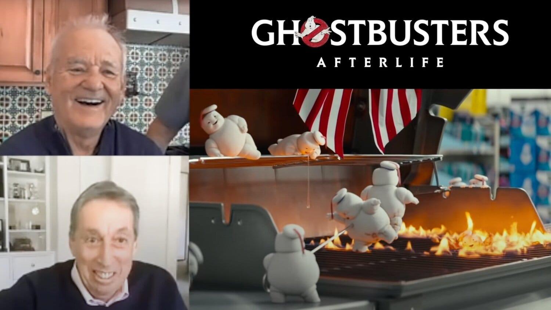 bill-murray, Mini Marshmallow Men, Ghostbusters: Legacy