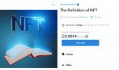 Merriam-Webster: la definizione dei NFT diventa un NFT, ovviamente in vendita