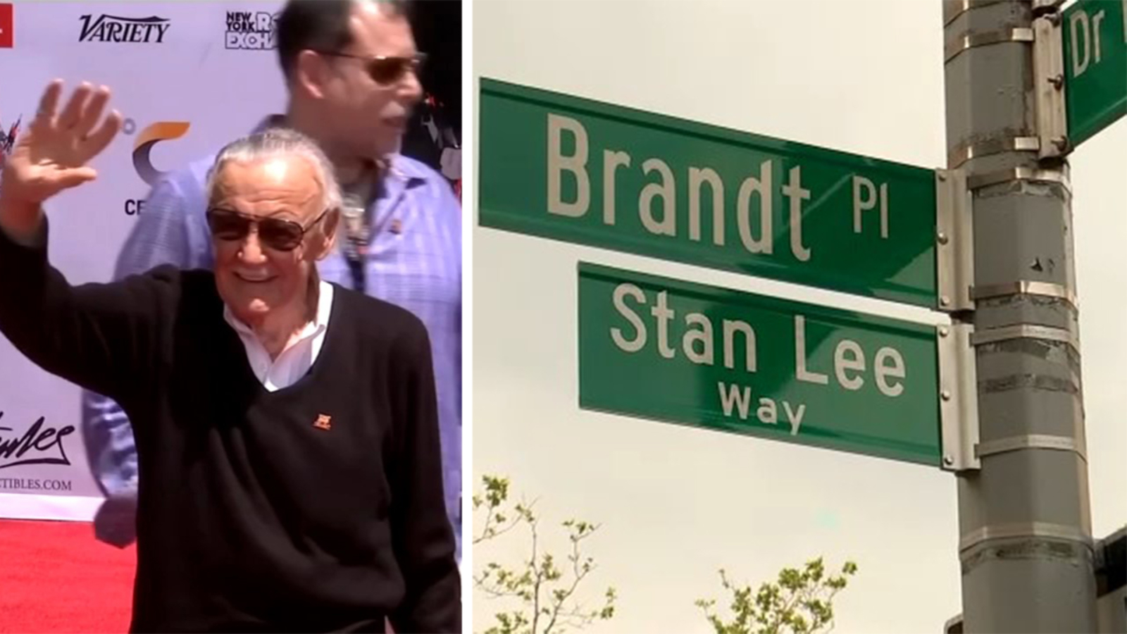 Stan Lee strada