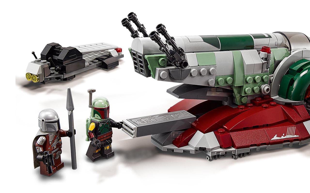 Boba Fett's Starship lego