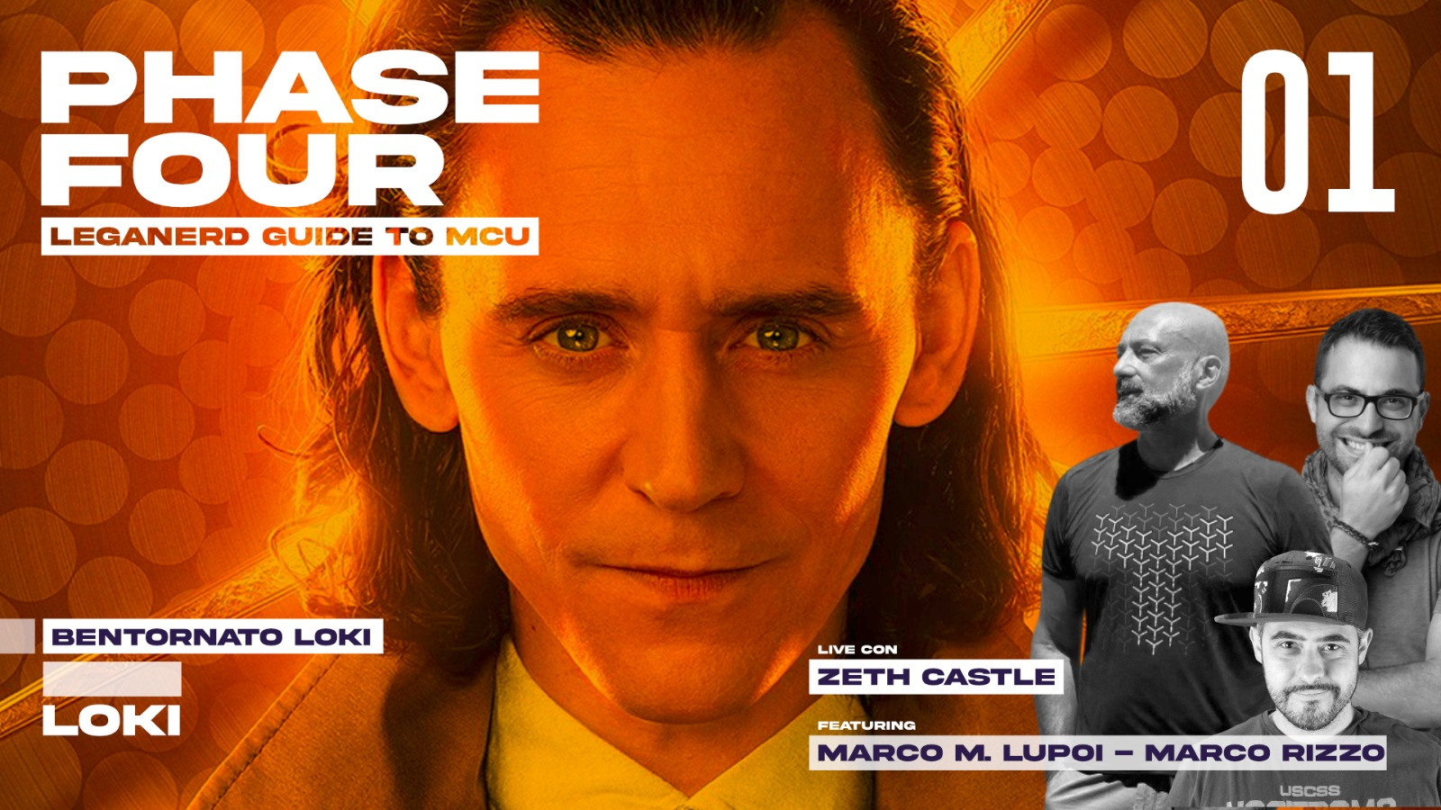 Phase Four ep. 01 - Bentornato Loki