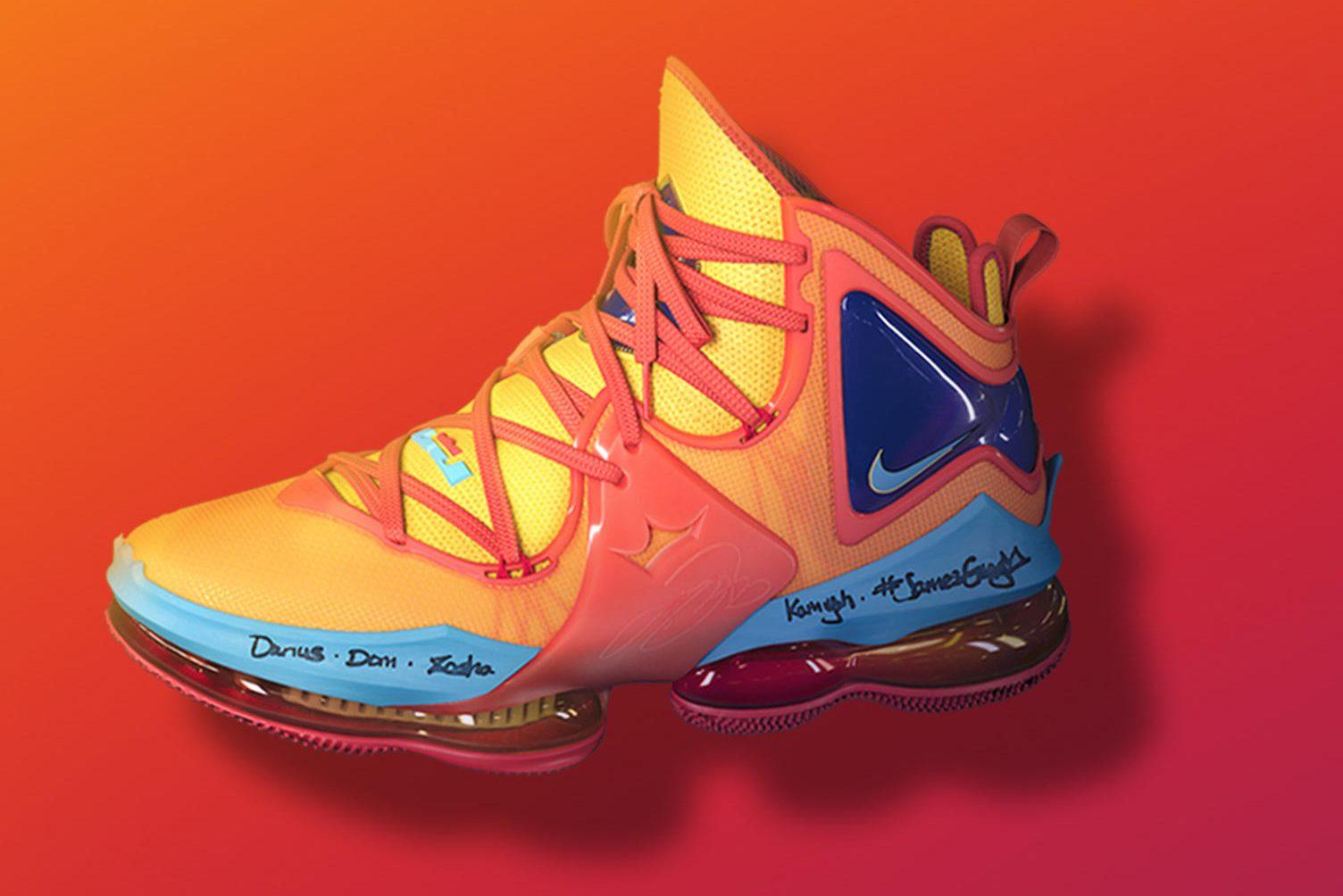 Lebron James scarpe, Space Jam: New Legends