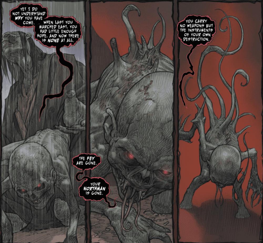 The Last god - creatures