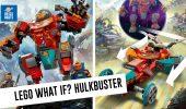 LEGO Marvel What If...? La Hulkbuster si trasforma in auto!
