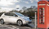 Colonnine di ricarica come le cabine telefoniche rosse, l'UK vuole che le auto elettriche siano iconiche