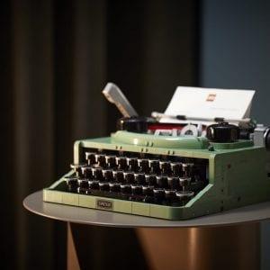 LEGO Ideas Typewriter