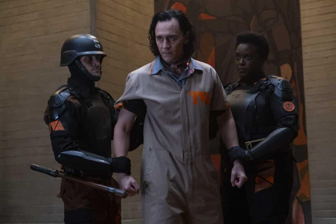 easter egg del primo episodio di Loki - arresto