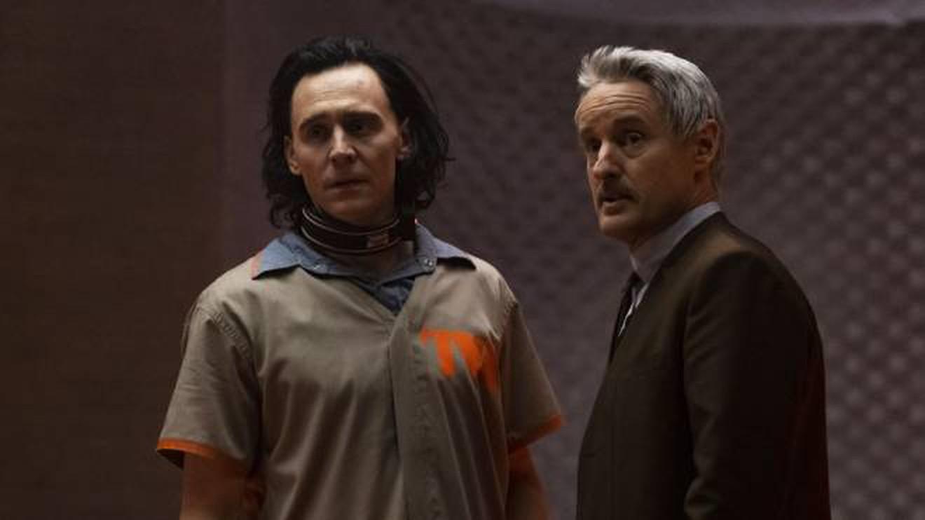 easter egg del primo episodio di Loki - mobius e loki