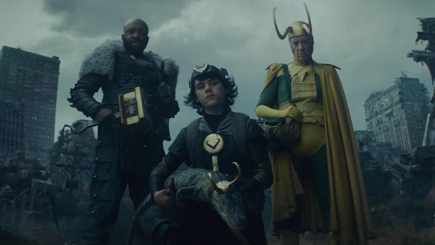 easter egg del quarto episodio di Loki - four Loki