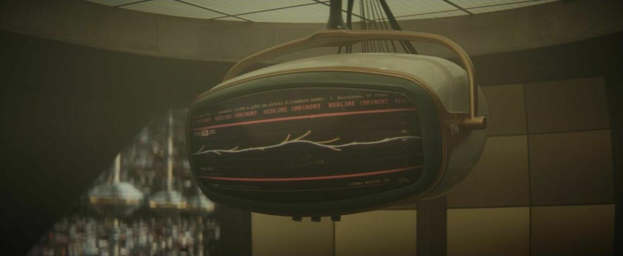 easter egg del secondo episodio di Loki - timeline