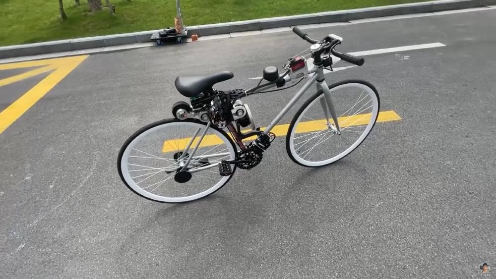 bicicletta autobilanciante