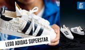 LEGO Adidas Superstar, il set che replica l'iconica scarpa!