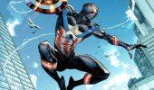 Spider-Man: Miles Morales con il costume di Captain America in un nuovo fumetto