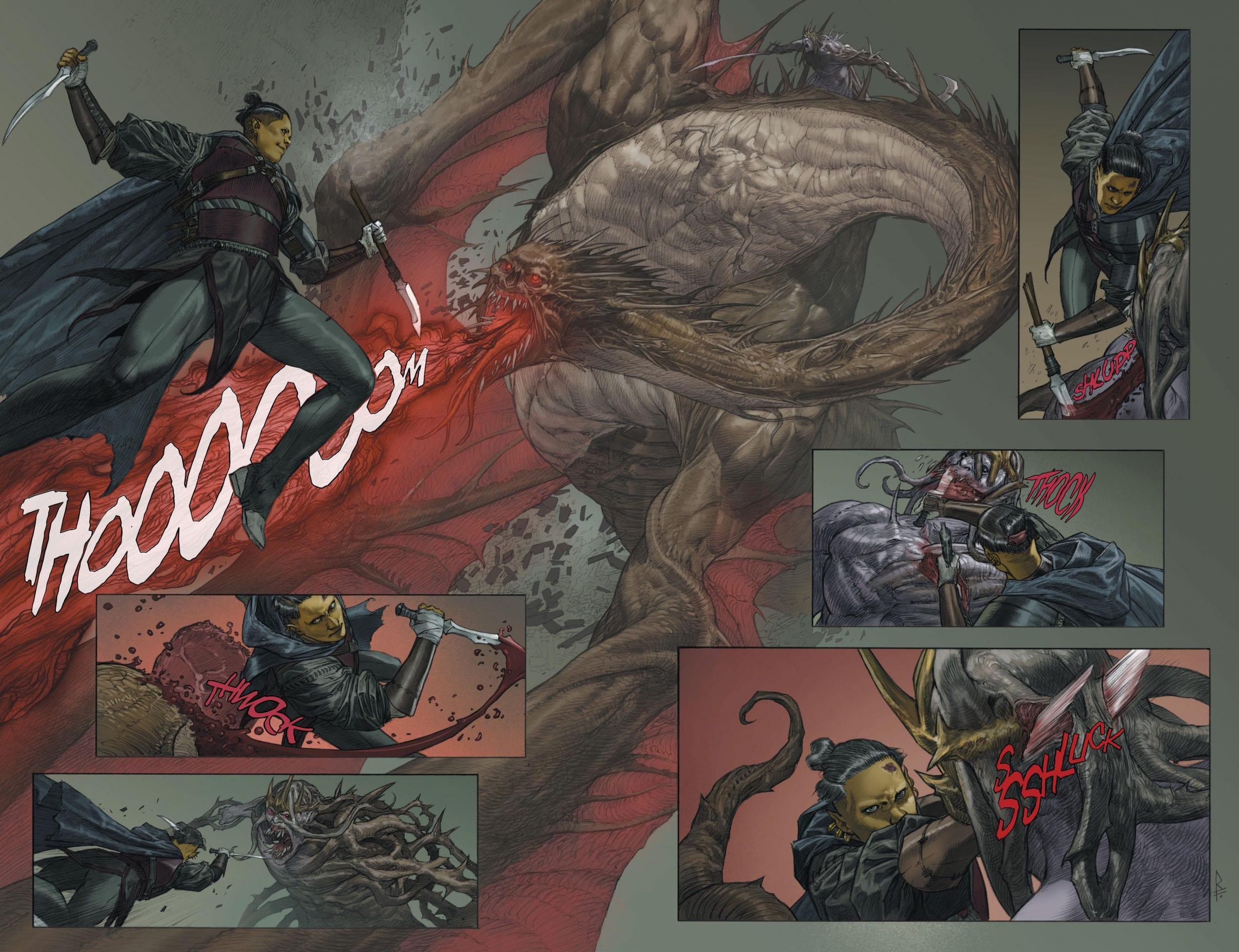 recensione de L'ultimo Dio - fight