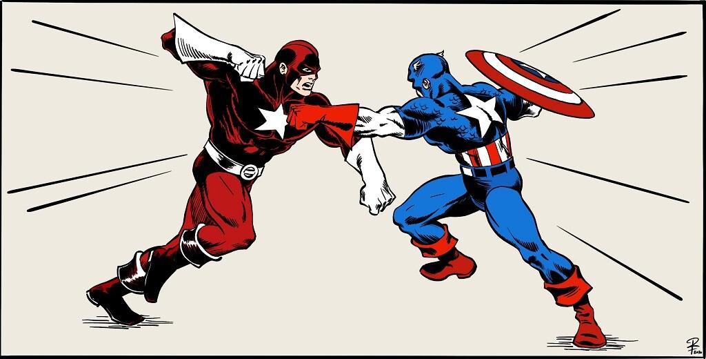 red guardian vs cap