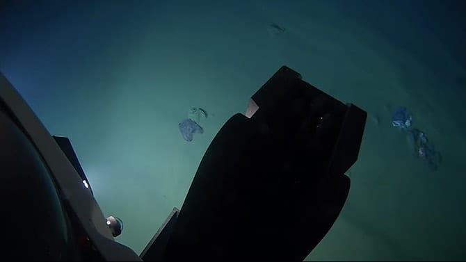 plastica nelle profondità oceaniche