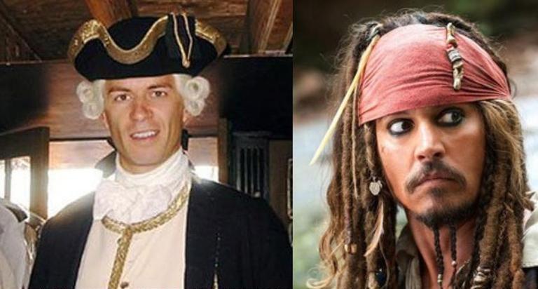 Pirati dei Carabi, Johnny Depp, Greg Ellis