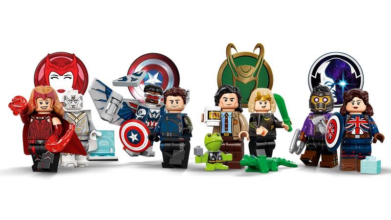 lego minifigure marvel