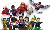 LEGO Marvel, svelate le minifigure della serie collezionabile dedicata ai supereroi
