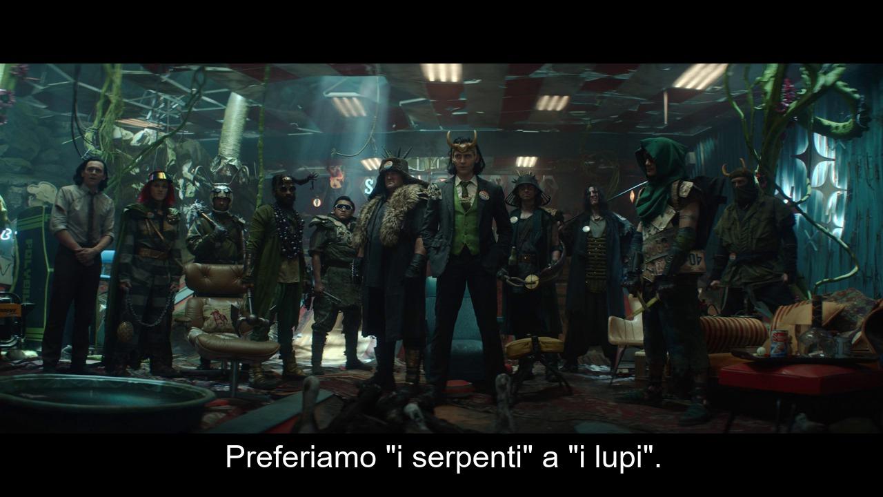 Loki - serpenti contro lupi