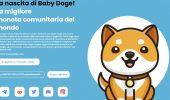 Baby Doge: Elon Musk pubblica un tweet demenziale, la criptovaluta prende il volo