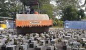 Criptovalute: la distruzione di massa di oltre 1000 mining rig, il video 'agghiacciante'