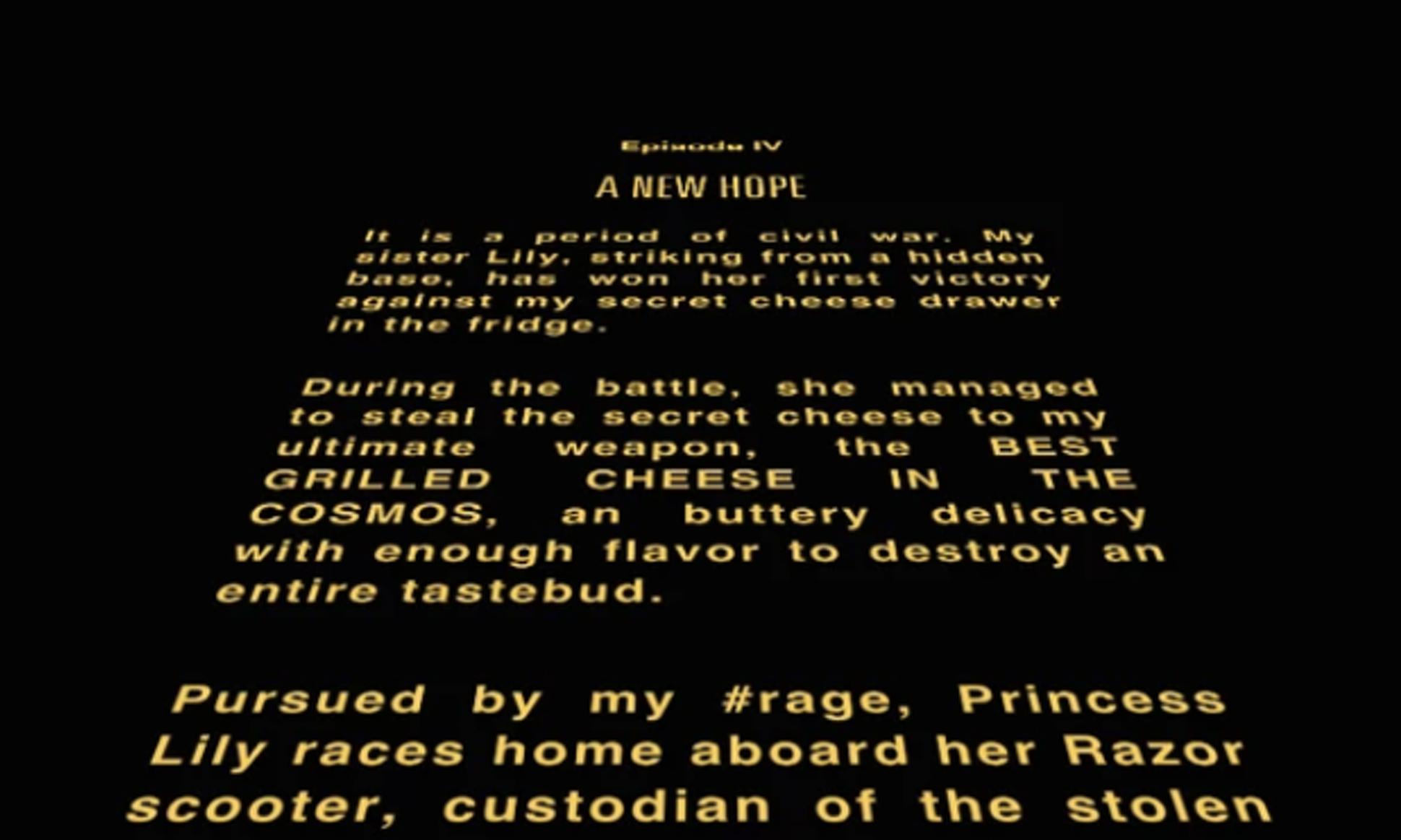Star Wars, Brian De Palma, introduzione